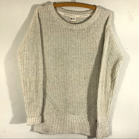 b037812b67 Toms Target Ivory Sparkly Sweater. M 5af0e8eb8df470390e33f1d5
